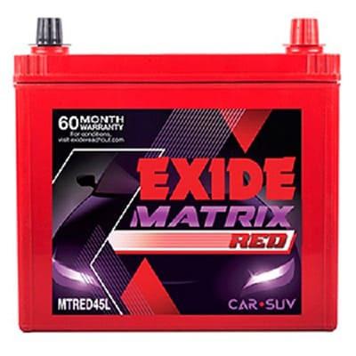 Exide Matrix Red MTREDDIN74
