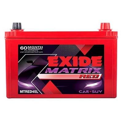 Exide Matrix Red MTREDDIN90