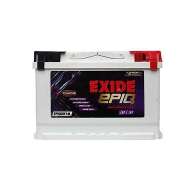 Exide EPIQ 75D23LBH
