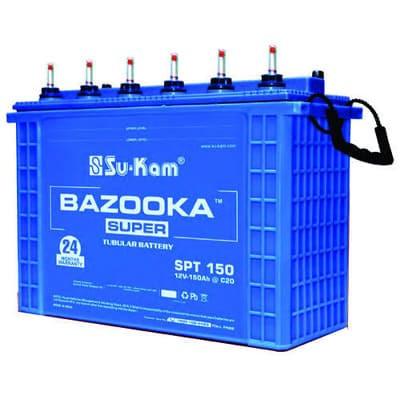 Su-Kam Bazooka SPT (150Ah)