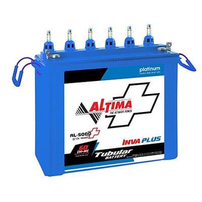 ALTIMA 650T Tubular Battery (36+24 Month Warranty)