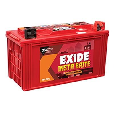 Exide Instabright 1000 (100 ah)